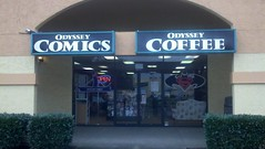 Odyssey Comics and Coffee in Vancouver WA