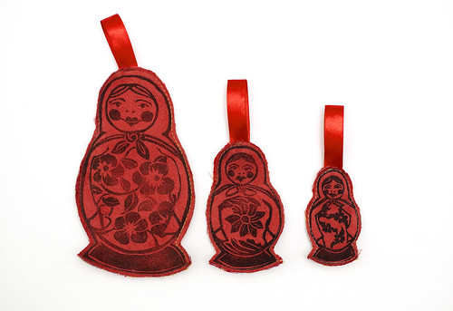 nesting doll ornaments