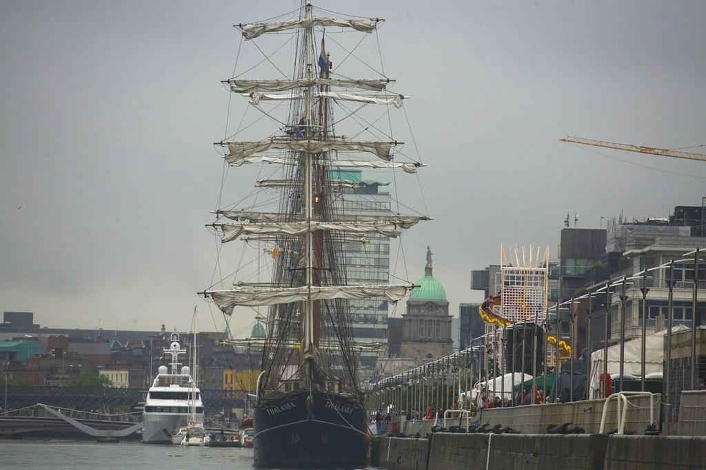 TALL SHIP - DUBLIN