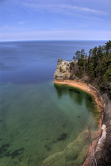Pictured Rocks National Lakeshore - by mischiru