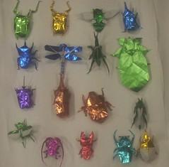 Origami Insects 1 Kawahata & Nishikawa (PhillipWest) Tags: origami paperfolding papiroflexia