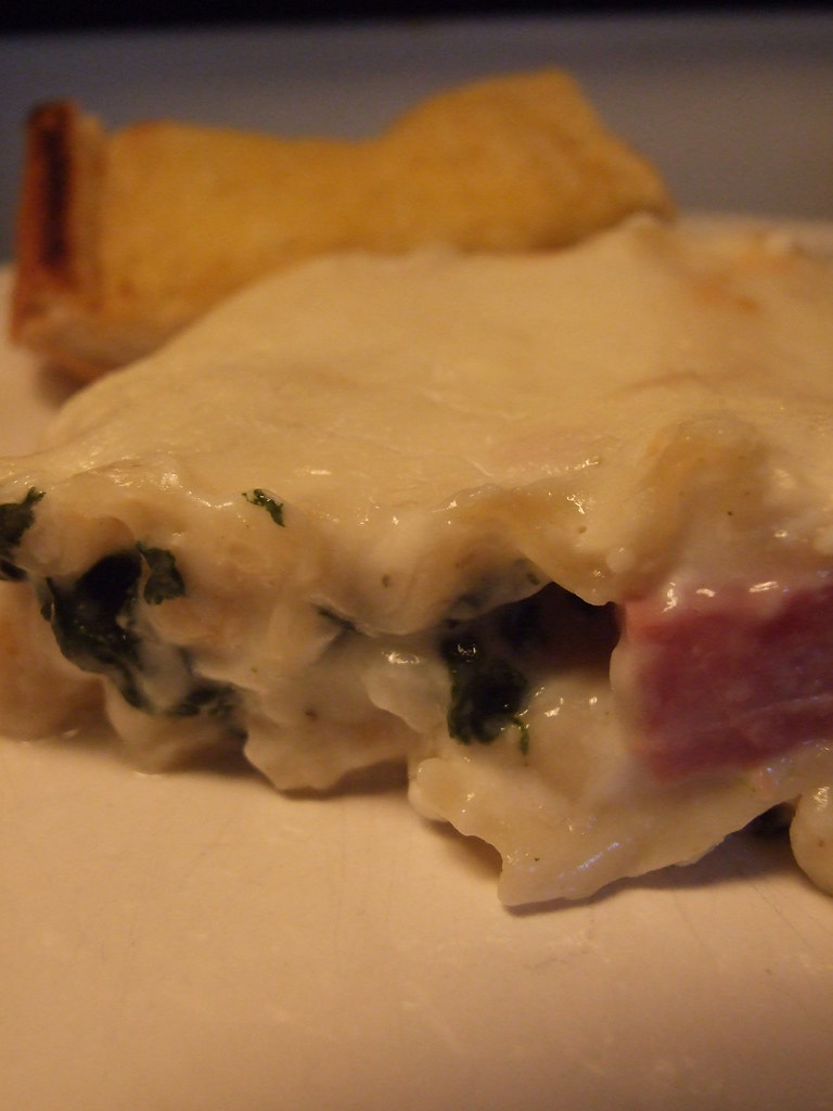 Spinach & Ham Lasagna