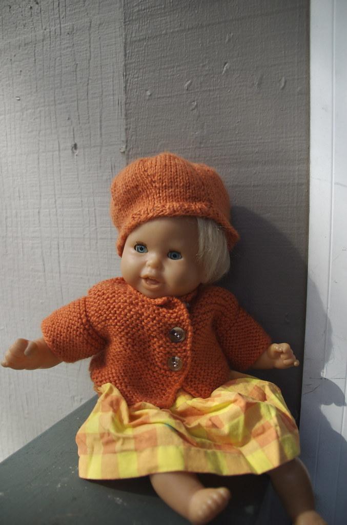 Mamie in orange