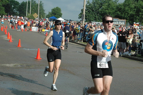 Lake Mills Triathlon - Run