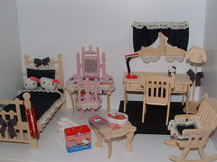 Hello Kitty Miniature Doll House.... (PinkWorld) Tags: hello cute hellokitty kitty mini sanrio kawaii rement dollhouse minihouse miniatues hellokittydollhouse