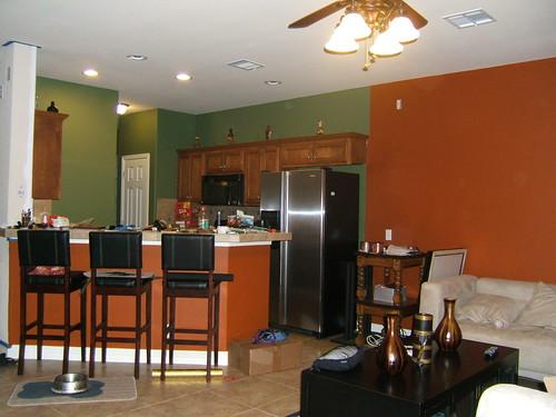 Painting The Family Room Kitchen Combo Kitchen Design Ideas Zimbio