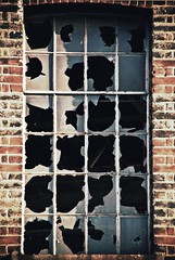 The pains of glass (solarider) Tags: red brick broken window glass site industrial tanya panes revolution dreams blogged shattered derelict gorky crumbling wordplay muted philistines igp7233 httpsolariderorgblogp1624 httpwwwfacebookcomprofilephpid528866883 httpsolariderorgblog httpsurindersinghorg