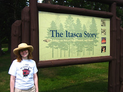 Itasca State Park Sign