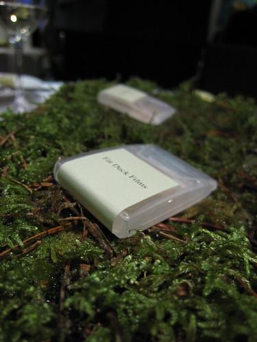 Oak moss breath strips