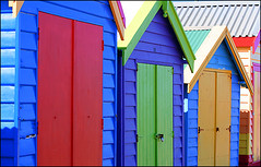 a1636 Beach Huts Up Close (tengtan (away awhile)) Tags: beach australia melbourne landmark huts colourful brightonbeach soe abigfave auselite bestofaustralia colourartaward vividmasters thechallengegame challengegamewinner thebestpool