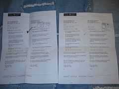 Canada Post Letters