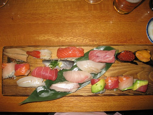 Chef's Omakase (selection) at Sushi Taro