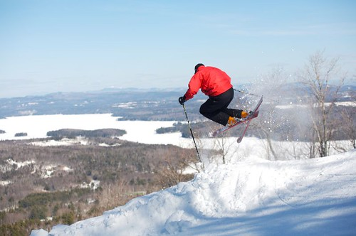 Mt Sunapee NH lake jump