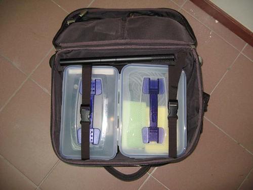 Video equipment bag
