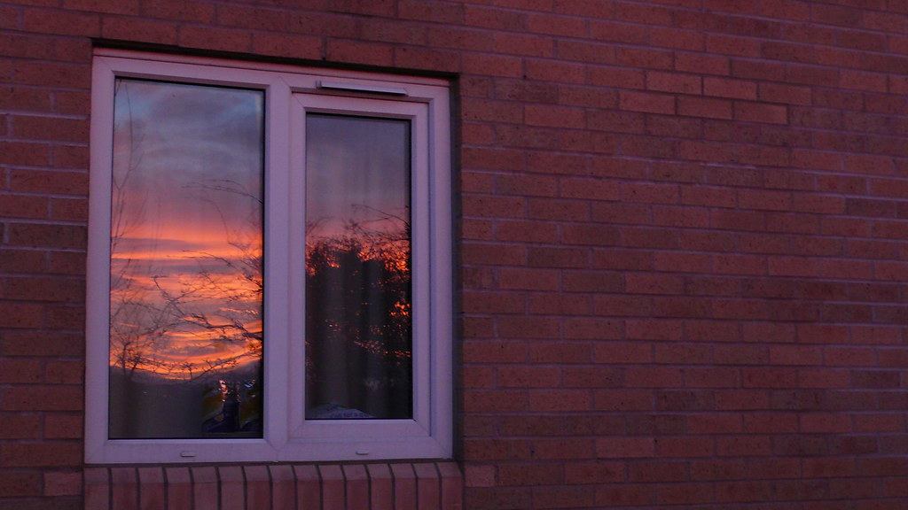 York sunset at a glance