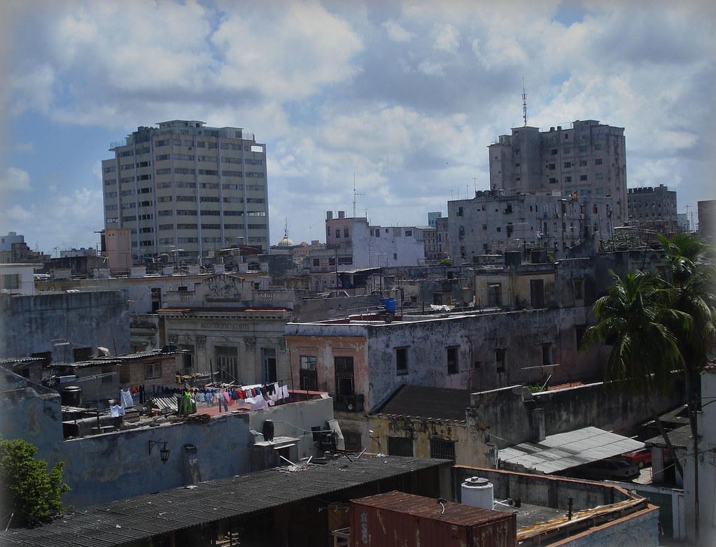 La Habana desde una terraza del museo de la Revolución