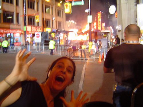 Yonge Street's on Fire!