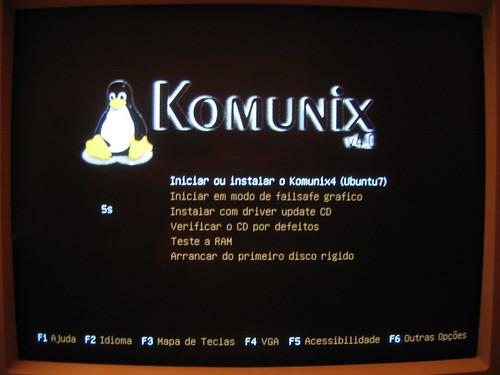 Komunix-boot