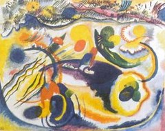 Wassily-Kandinsky_Theme-of-the-Last-Judgement--1913-Wassily-Kandinsky-133809 (cecy_investigacion) Tags: xx siglo metafsica