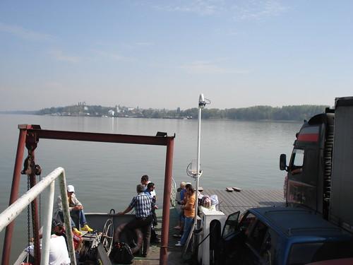 Donau - Grenye zwischen Rumaenien und Bulgarien