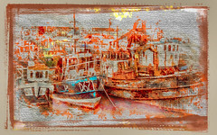 Reversed (wolfmanmoike) Tags: sea dublin boats fishing quay photoart aplusphoto diamondclassphotographer colourartaward