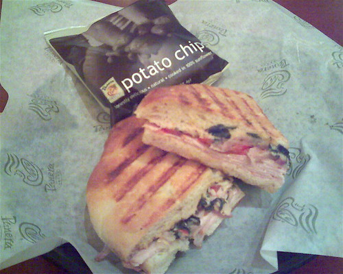 Sandwiches in Review: Panera Bread Turkey Artichoke Panini ...