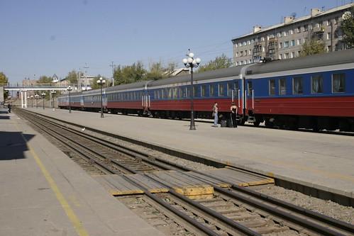 Tren Trans-Manchurian