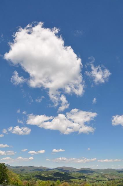 Blue Ridge Clouds