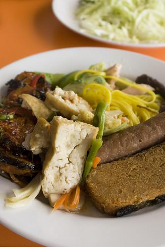 Vegetarian Festival Buffet Plate