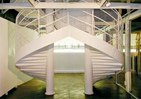 veneer (a spiral staircase) by Taro Komiya