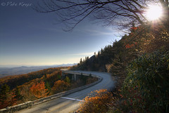 Linn Cove Viaduct (Karnevil) Tags: bridge usa fall nature landscape nc nikon northcarolina hdr blueridgeparkway grandfathermountain d300 linncoveviaduct segmentalbridge
