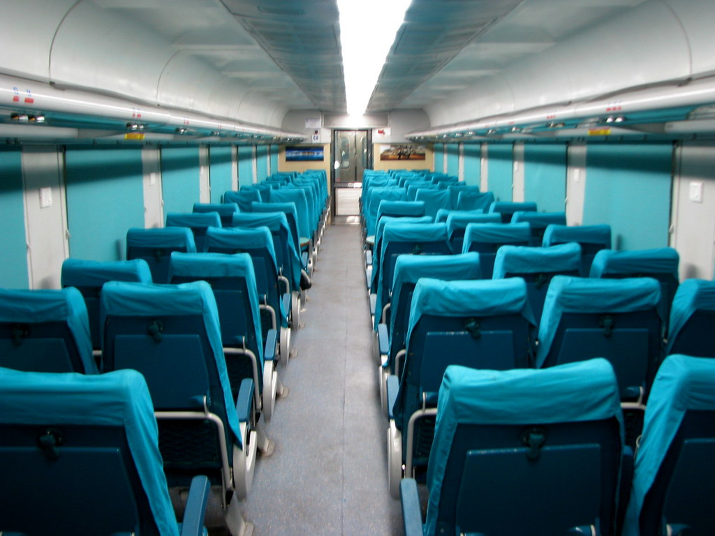 LHB Chair Car ... Chennai - Mysore Shadabti Express