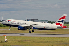 British Airways - G-EUYH - Airbus A320-232