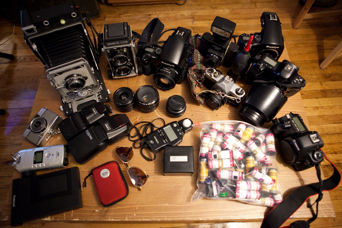 Image of What's in my bag?