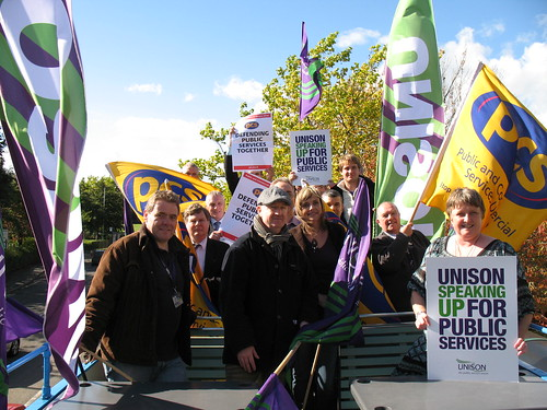 Campaigning for Public Services