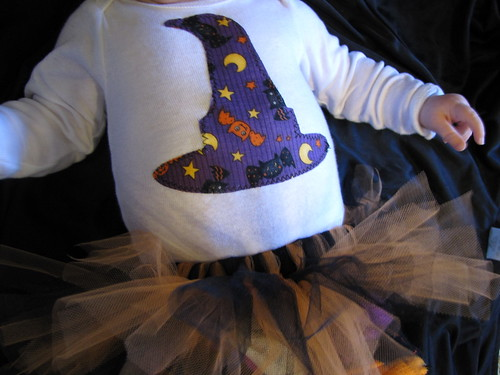 DIY Baby's First Halloween: Costume Tutu