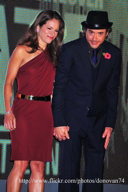 Robert Downey Jr and wife by RedWine2go
