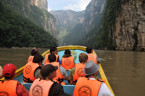 The Sumidero Canyon can do many activities