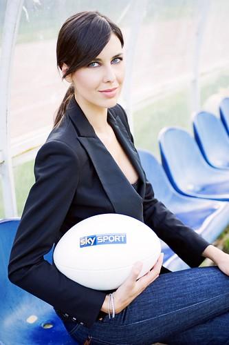 Tania Zamparo, volto del rugby SKY
