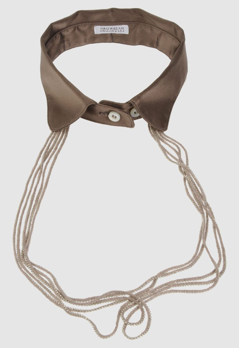 collar necklace by Brunello Cucinelli