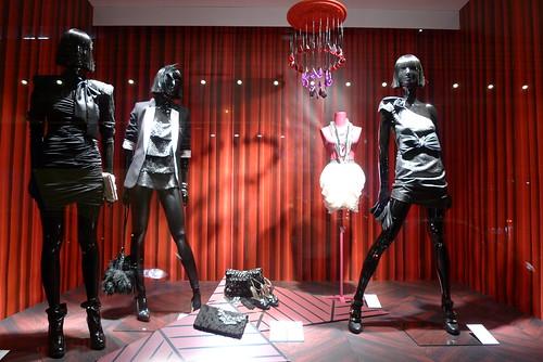 Vitrines H&M - Paris, novembre 2010