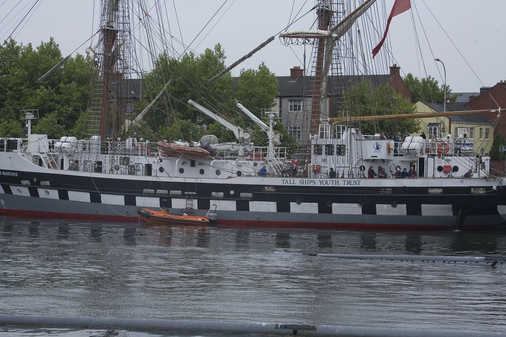 The Dublin Docklands Maritime Festival