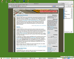 This site in Safari 3 beta for windows