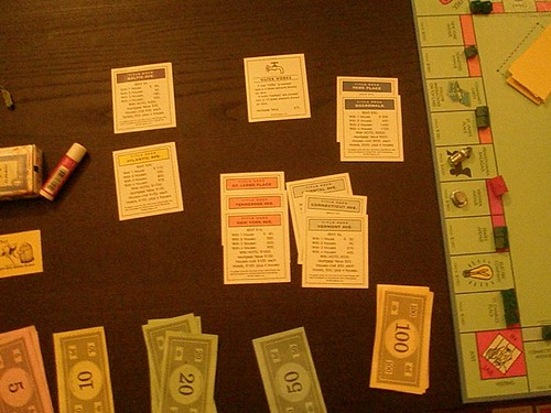 Monopoly before I started losing