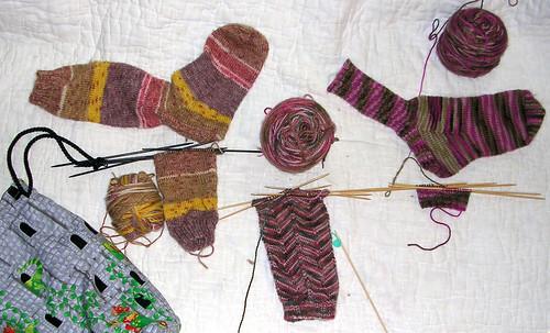 Socks, Sock, Sock,