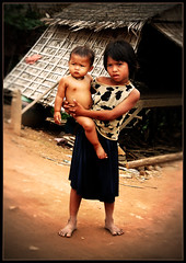 Poverty (jordics) Tags: poverty girl cambodia brothers poor anchor pobre cambodja pobres ltytr1