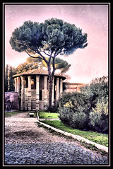 Temple of Hercules Victor - by K2D2vaca