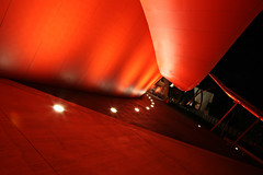 I See Red, I See Red, I See Red (Xenedis) Tags: australia canberra nationalmuseum red night evening australiancapitalterritory act architecture ig