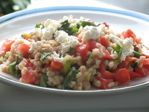 Barley Risotto with Summer Vegetables