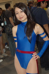 Comic Con 2007: Psylocke (earthdog) Tags: vacation 1025fav costume sandiego cosplay xmen superhero comiccon marvelcomics 2007 psylocke unknownperson kwannon comiccon07 comicbookcon cosplaygirl chrisvacation upcoming:event=95580 needscamera needslens